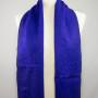 Yakwol sjaal paars