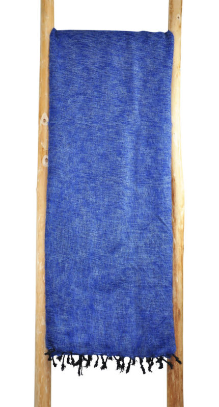 Terrasdeken Blauw van Yak Wol – Online Bestellen – Shawls4You