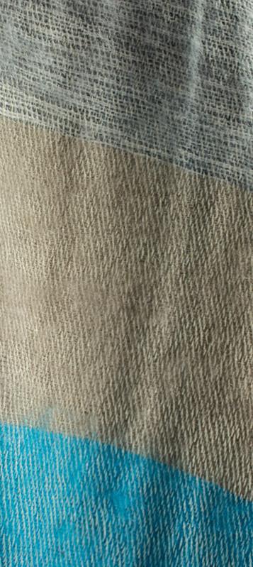 Stola blauw blauw, grijs