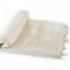 Plaid Creme | handgemaakt | Nepal | online kopen | www.shawls4you.nl