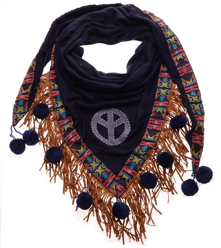 Sjaal Blauw Ibiza