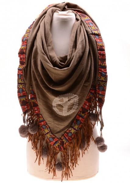 Sjaal Ibiza Bruin