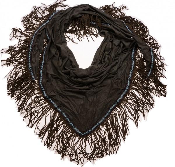 Sjaal Ibiza Suede Groen (190 x 75 cm)