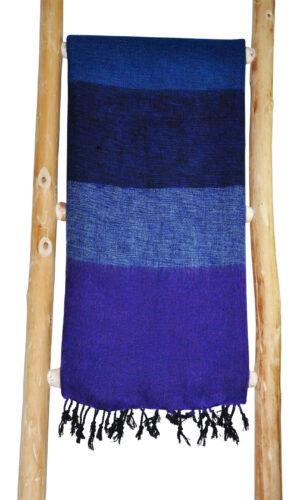 Omslagdoek Tibet Blauw Paars - online bestellen -Shawls4you 12