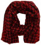Sjaal Rood, Zwart