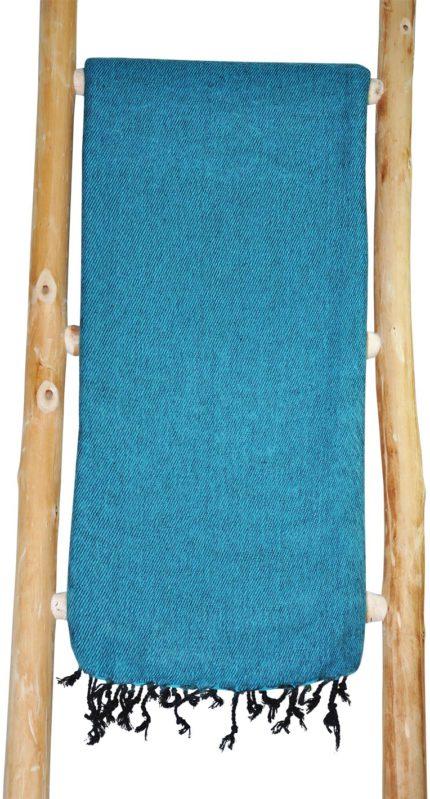 TIbetaanse Omslagdoek lichtblauw – online bestellen -Shawls4you