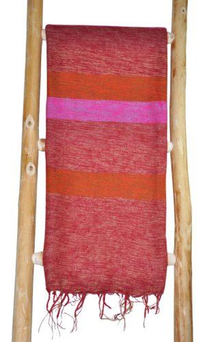 Tibetaanse Omslagdoek Roze Rood - online bestellen -Shawls4you