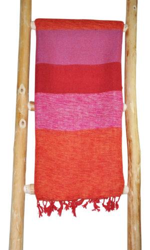 Tibetaanse Omslagdoek Roze - online bestellen -Shawls4you