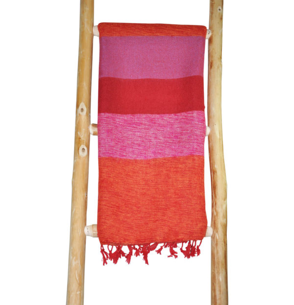 Tibetaanse Omslagdoek Roze – online bestellen -Shawls4you