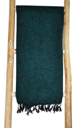 Tibetaanse Wollen Omslagdoek Groen - online bestellen - shawls4you.nl