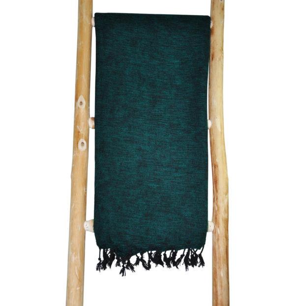 Tibetaanse Wollen Omslagdoek Groen – online bestellen – shawls4you.nl