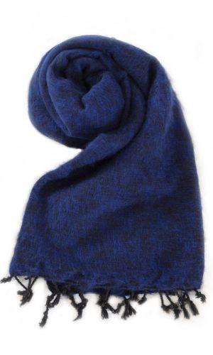 Nepal Omslagdoek Koningsblauw- online bestellen -Shawls4you