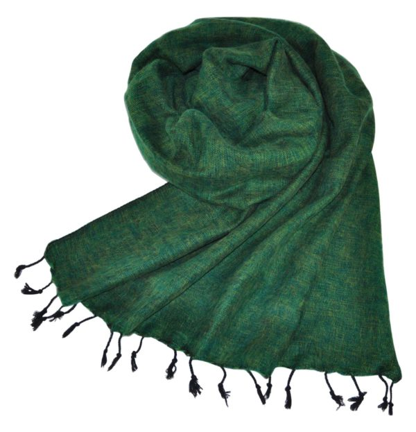 Nepal Omslagdoek Groen – online bestellen -Shawls4you