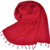Nepal Omslagdoek Rood, Roze - online bestellen -Shawls4you.nl