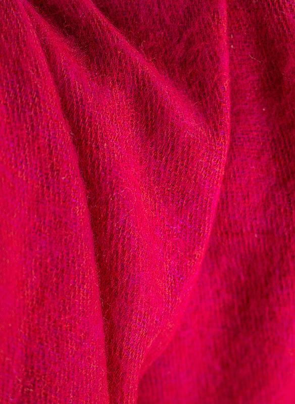 Nepal Omslagdoek Rood, Roze1