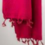 Nepal Omslagdoek Rood, Roze2