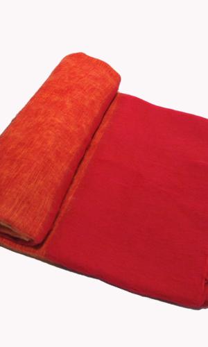 Nepal Plaid Donker Oranje Rood | Online Bestellen | www.Shawls4you.nl
