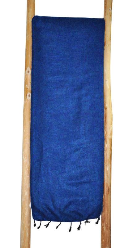 Nepal Deken Donker Blauw – Online Bestellen ( Shawls4you