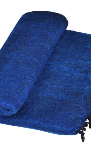 Nepal Deken Donker Blauw - Online Bestellen ( Shawls4you