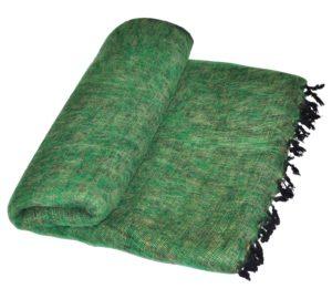 Nepal Deken Groen - Online Bestellen - Shawls4you.jpg