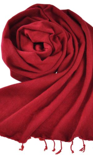 Omslagdoek Donkerrood | Fairtrade | Nepal | Bestel online | shawls4you.nl