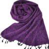 Nepal Sjaal Paars – online bestellen -Shawls4you