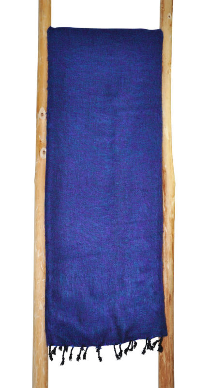 Yoga Plaid blauw paars van yak wol – online bestellen ( Shawls4You