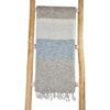 nepal sjaal grijs creme gestreept - online bestellen -Shawls4you