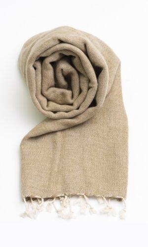 Omslagdoek Beige | Fairtrade | Nepal | online bestellen | shawls4you.nl