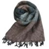 Nepal Omslagdoek Zwart Grijs Bruin- Online Bestellen - Shawls4you.jpg