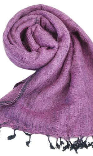 Omslagdoek Aubergine | Fairtrade | Nepal | Bestel online | shawls4you.nl