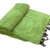 Plaid Nepal Gras Groen- Online Bestellen - Shawls4you.nl