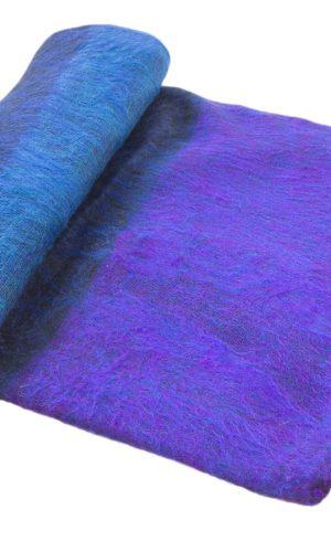 Nepal Plaid Blauw Paars Gestreept- Online Bestellen - Shawls4you.nl