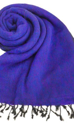 Omslagdoek Paars | Fairtrade | Nepal | online bestellen | shawls4you.nl
