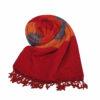 Nepal Omslagdoek blauw oranje rood - Online Bestellen - Shawls4you.jpg