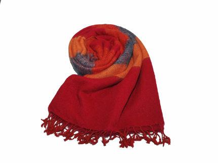 Nepal Omslagdoek blauw oranje rood – Online Bestellen – Shawls4you.jpg