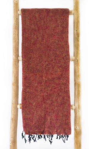 Nepal sjaal Brique- Online Bestellen - Shawls4you.nl