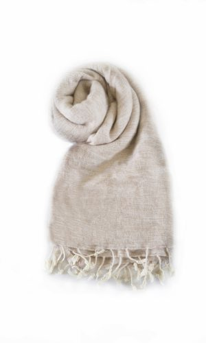 Omslagdoek Nude | Fairtrade | Nepal | online bestellen | shawls4you.nl