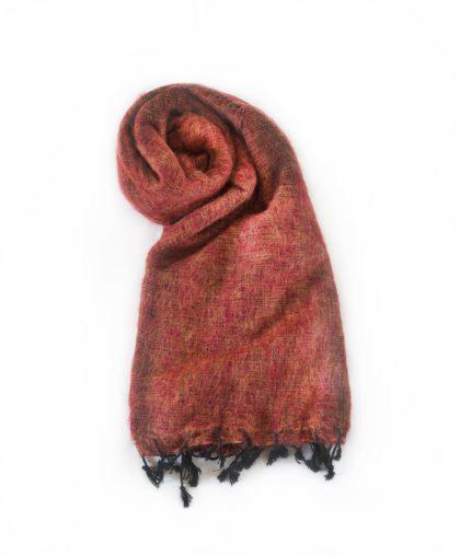 Nepal sjaal Brique- Online Bestellen – Shawls4you.nl