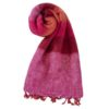 Omslagdoek Roze Rood | Fairtrade | Nepal | handmade | shawls4you.nl