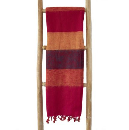 Nepal Omslagdoek Cyclaam Oranje Donker- online bestellen -Shawls4you.nl