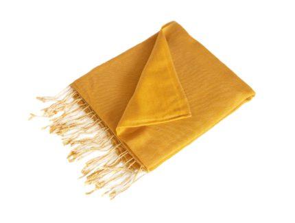 pashmina-Zonnig Oranje-190×90-cm