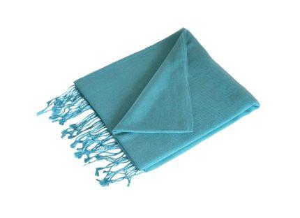 pashmina-licht turquoise-190×90-cm