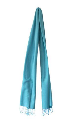 pashmina-licht turquoise-190x90-cm