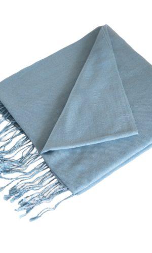 pashmina-Pastel blauw-190x90-cm