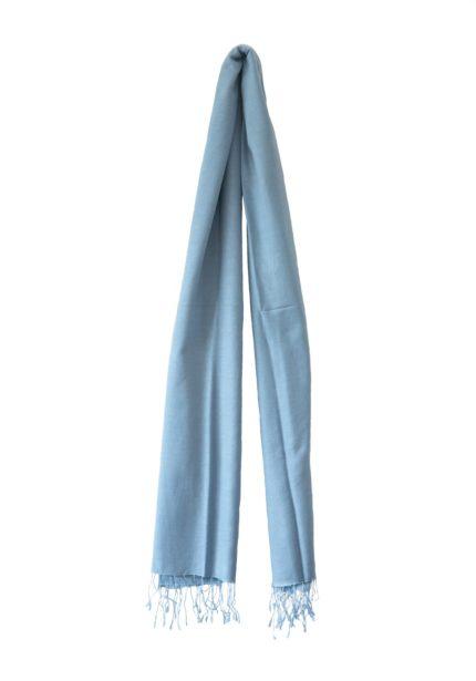 pashmina-Pastel blauw-190×90-cm