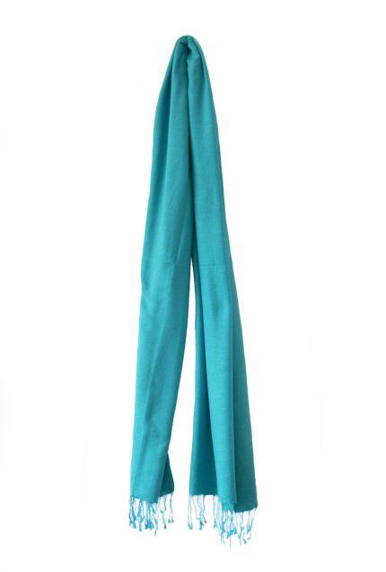 pashmina-turquoise-190×90-cm