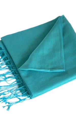 pashmina-turquoise-190x90-cm