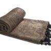 Nepal Plaid Bruin- online bestellen -Shawls4you