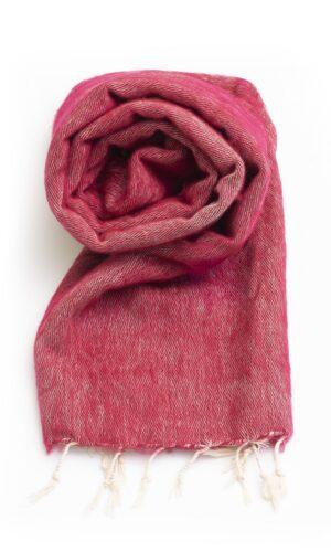 Koraalrode sjaal online kopen 1